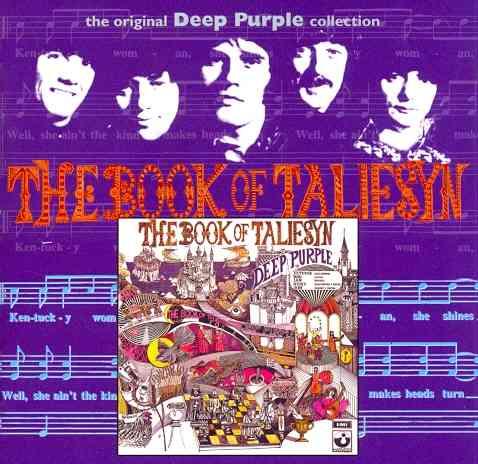 BOOK OF TALIESYN BY DEEP PURPLE (CD)